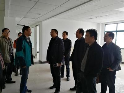 """省市发改委领导来罗田实地核查全国""""双创""""示范基地建设项目"""