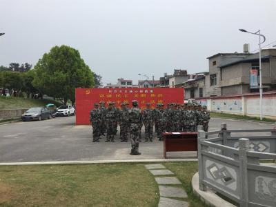 匡河鎮組織基干民兵集結訓練常態化