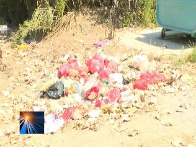罗田县督查组对白莲河乡部分村子垃圾治理情况进行暗访抽查