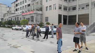 市教育局到罗田县匡河镇检查指导暑期校园安全工作