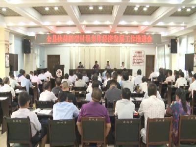 罗田县将利用四年时间扶持240个村发展集体经济