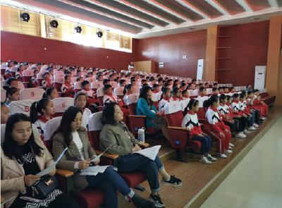 """實驗小學舉行""""愛我中華""""演講比賽活動"""