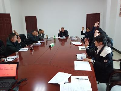 羅田縣老干局順利完成支部換屆選舉工作