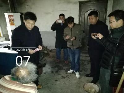 劉建剛走訪慰問困難群眾
