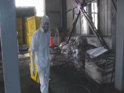 湖北宏源藥業科技股份有限公司處置醫療廢棄物達到19噸