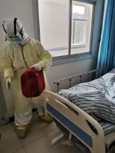 湖南援黄冈市医疗队队员戴欢的日记:我在异乡的浪漫生日