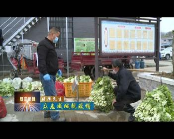 鳳山鎮上石源河村:一手抓疫情防控 一手抓蔬菜生產