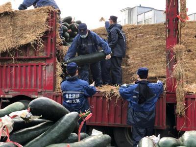 羅田消防救援大隊:當好防疫物資轉運勤務兵
