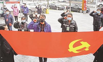 湖北58万党员干部下沉社区阻击疫情