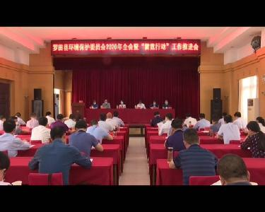 """罗田县环境保护委员会举行2020年全会暨""""雷霆举措""""任务推进会"""