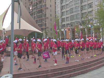 """罗田大别山跑团开展""""魅力凤城万米约跑""""活动"""