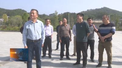省退役军人事务厅调研罗田县烈士纪念设施维护管理工作
