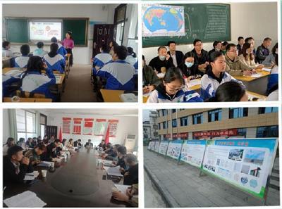 市教科院到罗田县义水学校进行教育教学视导