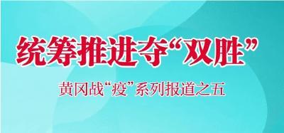 """【黄冈战""""疫""""】统筹推进夺""""双胜"""""""
