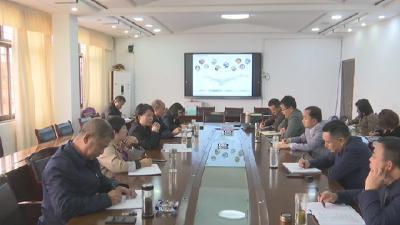 罗田县举行九资河地标优品产业强镇项目工作会