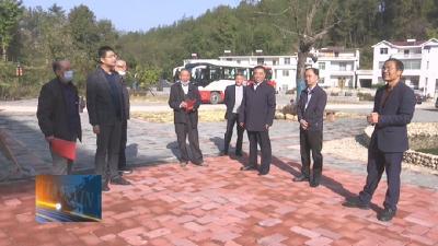 罗田县组织离退休老干部参观全县重点项目建设