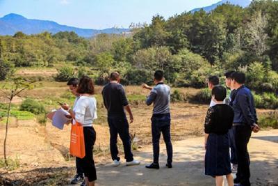 罗田县用地增减挂钩、耕地占补平衡和旱改水项目工程建设取得可喜成就