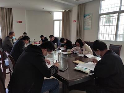 白庙河镇财务所党支部组织进修传达党的十九届五中全会精神