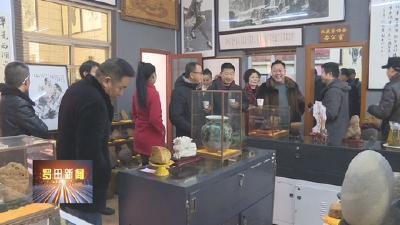 黄冈市收藏家协会及奇石专委会罗田联络处挂牌成立