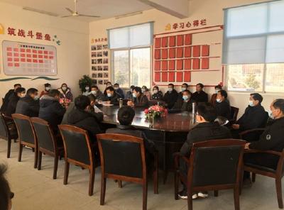 罗田县教育局考核万密斋中学领导班子及成员工作实绩