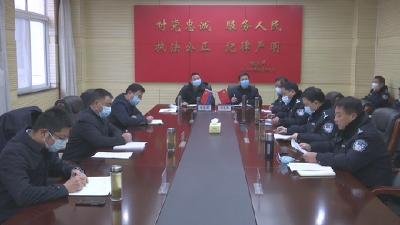 汪柏坤到罗田县公安局调研公安工作