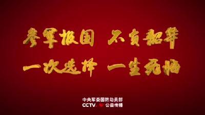 征兵公益宣传片《参军报国 不负年华》