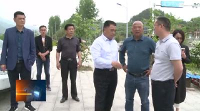 汪柏坤在检查督办小城镇建设工作时强调:打造有特色有品位的小城镇 提升人居环境质量