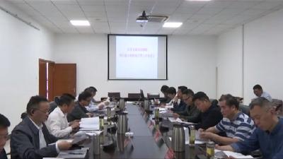 罗田县第五项目招商组督办项目建设和招商引资工作