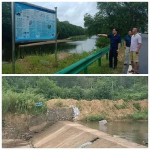 罗田县教育局到大河岸镇教育系统调研防溺水安全工作