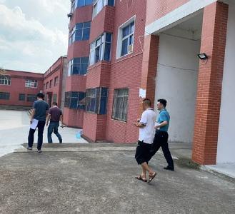 黄冈市教育局到白庙河镇中心小学检查防溺水安全工作