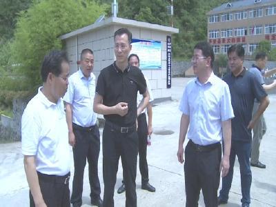 """刘云波来罗田县调研""""我为群众办实事""""实践活动开展情况"""