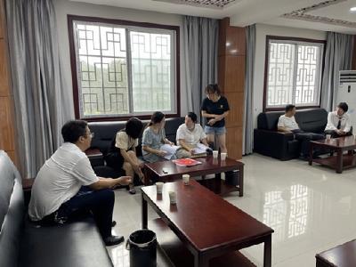 市党史学习教育巡回指导组到九资河镇财政所开展督查