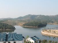 龙王湖鸟瞰