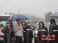 紅安洪災牽動省市縣領導的心(組圖)