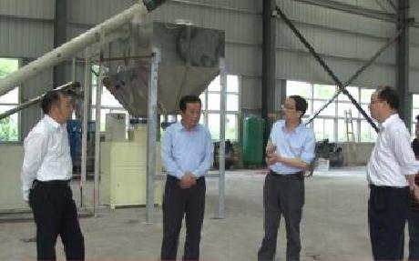 劉輝坦到園區開展服務企業行動