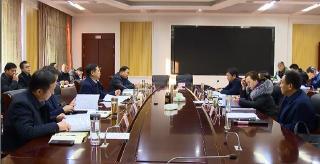 余学武主持县委常委会会议强调