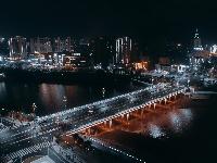 夜色中的二桥