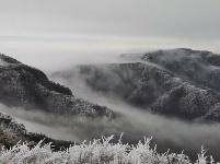 天台山初雪