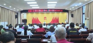 刘堂军等县领导参加红安县乡人大代...