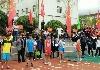 房县举行第十二届中学生田径运动会