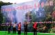 """房县举办""""神往岩屋沟·房县登山行""""活动 喜迎第九个中国旅游日"""