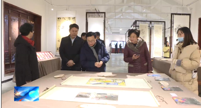 中国旅游集团来房考察投资旅游项目