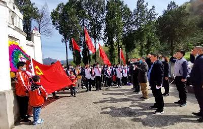 沙河乡开展缅怀革命先烈纪念活动