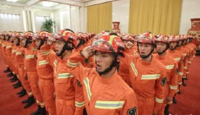 国家首次面向社会招1.8万名消防员 考试要测体能心理