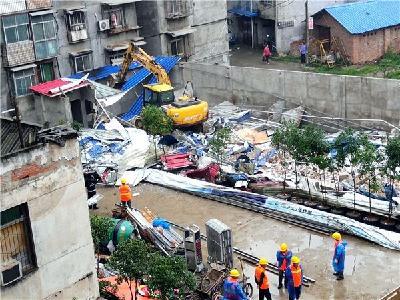 我市依法拆除一处违章建筑 面积达970多平方米