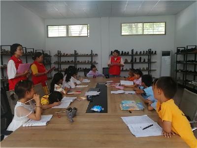 新港经济开发管理处联合开展暑期关爱留守儿童活动