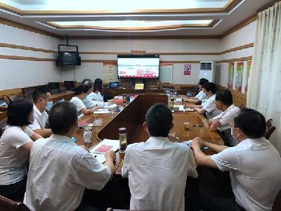 全市干部群众认真收听收看庆祝中国共产党成立100周年大会