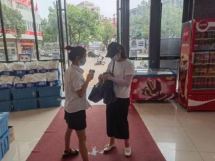 记者暗访:公共场所 仍有部分市民不正确佩戴口罩