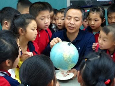 世界地球日:公祖小学引导学生爱护地球