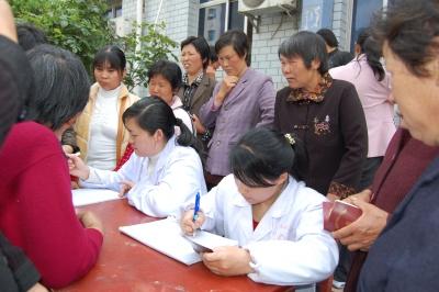 """竹山县贫困妇女""""两癌""""检查工作获好评"""